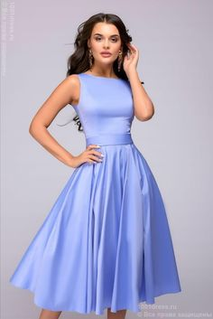 Платье сиреневое 1001DRESS