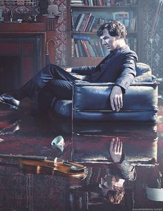 John: Sherlock, what's wrong with our flat?! Sherlock: oh, I was bored so I tried another experiment and...well...this just sort of happened. John:............