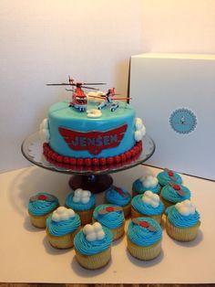 Disney Planes Cake/cupcakes