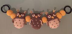 Virkattu vaunulelu Diy Crafts Crochet, Crochet Ideas, Diy Baby, Baby Things, Bunting, Bebe, Garlands, Buntings, Banting