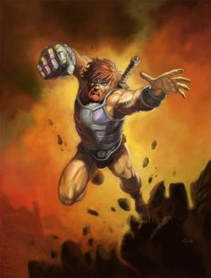 Fisto from Masters of the Universe - He-Man Art #MOTU