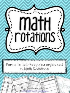 Getting It Started Saturday: Math Rotations {Part 2}: Planning & Grouping Students