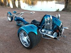 motorcycle trikes | Porsche-911-Trike-Troubled-Waters-by-Phoenix-Trike-Works-Rear-Angle-2 ...