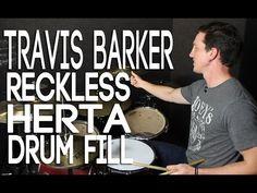 "Travis Barker ""Reckless Herta"" Drum Fill - YouTube"