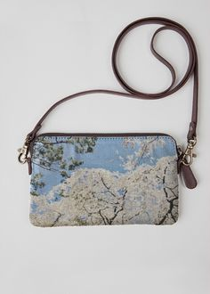 VIDA Leather Statement Clutch - Summers by the sea by VIDA
