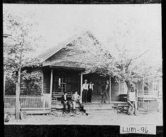 Vq Higgins store in auraria in 1910