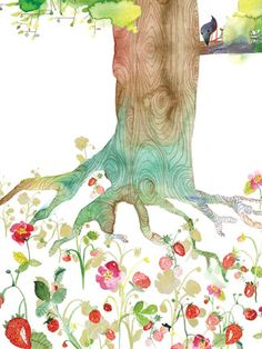 .roots and blossoms.thank you I love you