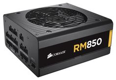 BUY NOW Corsair RM Series 850 Watt ATX/EPS Gold-Certified Power Supply Reliable operation, fully modular cabling, and optimized 80 Plus, Memoria Ram, Computer Build, Cooler Master, Computer Hardware, Computer Accessories, Fans, The Unit, Electronics