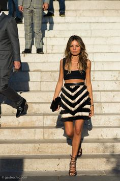Because Balmain. #EricPelosini shows us a thing or two in Paris.