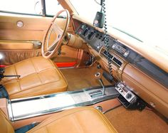 the General Lee interior