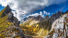 Alpenüberquerung: Auf der Gehrerspitze in Tirol