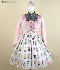 Candy Bottle Ribbon Shirred Dress #meta #metamorphose