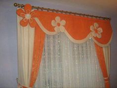 Cute Curtains, Curtains And Draperies, Luxury Curtains, Elegant Curtains, Beautiful Curtains, Window Drapes, Window Coverings, Valance, Rainbow Curtains