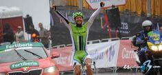 Stage 14 ¡La foto! Daniele Ratto ( @neneito74 ) gana la decimocuarta etapa de #LaVuelta -