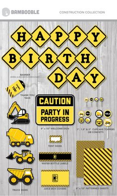 Party and Kid Printables