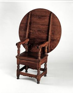 Colonial Massachusetts Chair-table