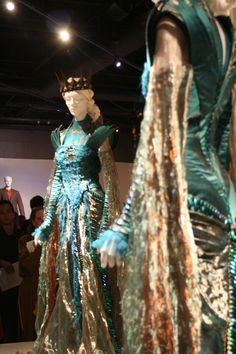 "Ravenna's ""Beetle"" costume from Snow White and the Huntsman - designed by Colleen Atwood"