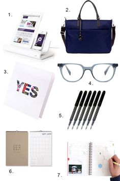 Back to Work! A few of our favorite organizing essentials to get us motivated for September.