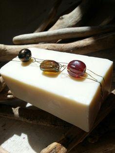 """Red Gemma"" - pasta di sapone decorativa 100% olio d'oliva made in Tuscany - www.facebook.com/justtuscany"