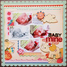 for baby scrapbook