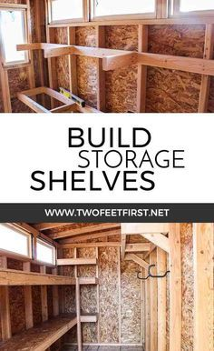 Diy garage storage project building a heavy duty shelf unit are you looking for a storage solution in your shed or garage it may be solutioingenieria Images