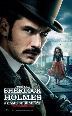 """""""Sherlock Holmes: A Game of Shadows"""" poster"""