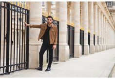 chicerman.com  coolcosmos:  Paul-Henri  #streetstyleformen