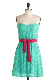 Sherbet Stand Dress, #ModCloth  --> I am VERY VERY seriously considering this dress...it's perfect and beautiful!
