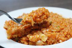 Fotorecept: Indický Dhal z červenej šošovice Dhal, Tofu, Risotto, Macaroni And Cheese, Ethnic Recipes, Vietnam, Italia, Asia, Mexico