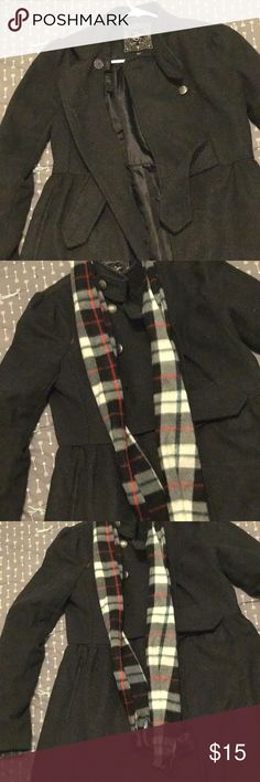 Ralph Lauren Gray Peacoat Classic Gray Peacoat | Missing a Button Ralph Lauren Jackets & Coats Pea Coats