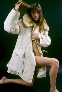 Jane Birkin, taken in the Sixties.