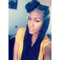 Thinking about doing Senegales twists this summer. #protectivestyling #hair