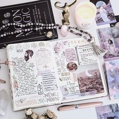 How to Plan Your Perfect Day: 14 Daily Log Layouts – Bullet Journal 101 Bullet Journal Aesthetic, Bullet Journal Spread, My Journal, Bullet Journal Inspiration, Journal Pages, Journal Diary, Bullet Journals, Citation Photo Insta, Bujo