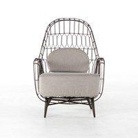 Living Room   Manten Outdoor Wing Chair   PPLM-006K-700