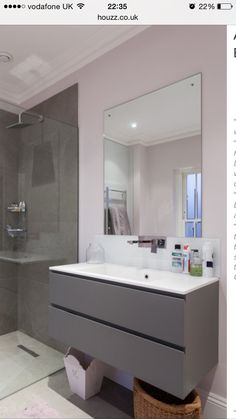 Lovely sink unit and tiles