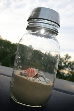 How fun is this!!     Solar Lids Mason Jar Solar Lights Solar Lighted by hawthornehill, $10.00