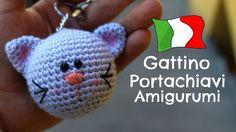 Gattino portachiavi Amigurumi | World Of Amigurumi