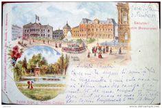 Bucuresti - Salutari din Bucuresci - 1899 Real People, Romania, Taj Mahal, History, Travel, Shelf, Voyage, Viajes, History Books