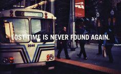 Tempo Perdido.