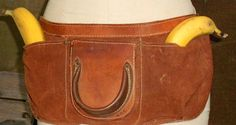 VINTAGE UTILITYBELT FANNYPACK leather by JunqueInTheTrunque, $48.00