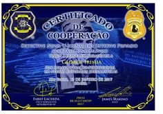"""Certificado de cooperação 01 2017 for George Irimia CEO S.P.I.A. Detective Agency in Romania  http://www.detectivenews.org/pdf/News-Detective-47.pdf.   Thank you very much for granting this honor of international professional recognition to private detectives and journalists of the newspaper """"Detective News"""", Mr. Fabio Lacerda and Mr. James Makino from Brasil. We wish you good health, happiness and success to private detectives all over the world.  George Irimia CEO and Co-founder of…"""