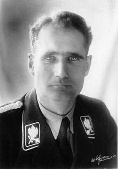 Rudolf Hess Parachuted into England alone in an irrational attempt to prevent Britain and Germany going to War
