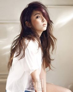 4Minute's Sohyun // Vogue Girl Korea // April 2012