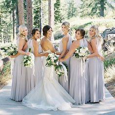 "69a80937cb The Dessy Group on Instagram  ""Sunday smiles! What beautiful imagery via   lynetteboyle  dessybridesmaids  dessywedding  platinum  bridesmaids   bridetribe ..."