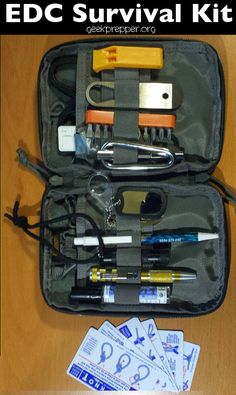 A more modular approach to Survival and EDC! GeekPrepper.org
