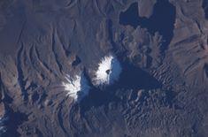 Parinacota and Pomerape volcanoes