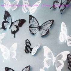 crystal Butterfly Wall Sticker Art Decal Home decor for Mural Stickers DIY Decal PVC Christmas Wedding Decoration Price: USD Cheap Wall Stickers, Wall Stickers Home Decor, Window Stickers, Decorative Stickers, Vinyl Decor, Decorative Glass, 3d Butterfly Wall Stickers, Butterfly Art, Butterfly Design