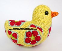 Ravelry: Bluebird of Happiness Duck Modification pattern by Heidi Bears