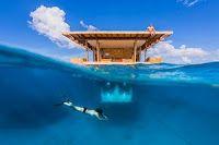 Дрейфующий подводный отель у берегов Танзании