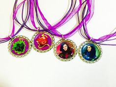 Descendants party favors   necklaces set of 12 by BirthdayPartyBox